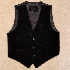 Leather Vest, Men's, M